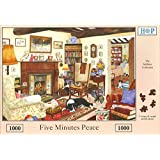 1000 Piece DeLuxe Jigsaw Puzzle - Five Minutes Peace