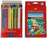 36 Lápices de Colores para Niños - Faber Castell