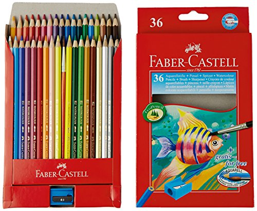 Faber castell cf36matite colorate acquerellabili