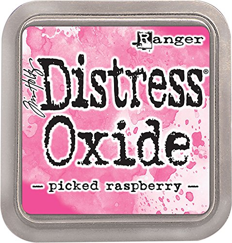 Ranger Raspberry Not-Oxid Tinte Pad, Kunststoff, pink, 7,5 x 7,5 x 1,9 cm - Not Dye Ink Pad
