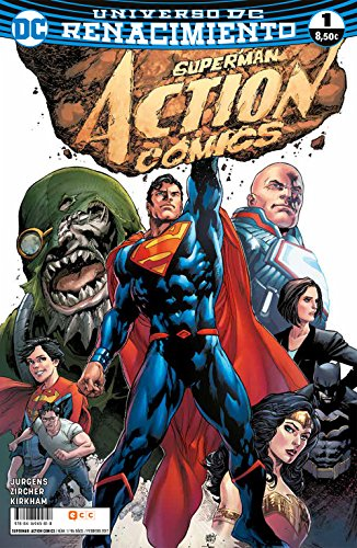 Descargar Libro SUPERMAN: ACTION COMICS 1 de Dan Jurgens
