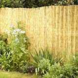 Best Privacy Fences - FB FunkyBuys® Natural Garden Fence Screening Roll Privacy Review