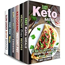 Stay Fit Box Set (6 in 1) : Over 200 Ketogenic, Low Carb, Vegan Recipes for People on a Diet (Weight Loss Recipes) (English Edition)