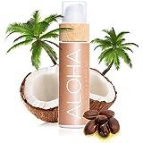COCOSOLIS Aloha - Acelerador de Bronceado con Vitamina E, Loción Bio Oil para un bronceado natural – Bronceadores Solares cho