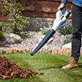 VonHaus Cordless Leaf Blower with 20V Max. Battery – Lightweight with Soft Grip Handle - Part of the VonHaus 20V Max Lithium-ion G Range