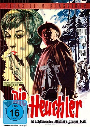 Die Heuchler / Packender Kriminalfilm nach dem Bestseller Die GEJAGTEN (Pidax Film-Klassiker) [Edizione: Germania]