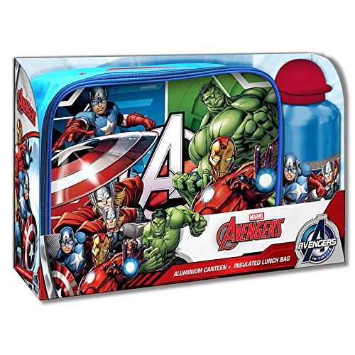 s Set Sandwich + Trinkflasche, mv92334 (Die Avengers Von Disney)