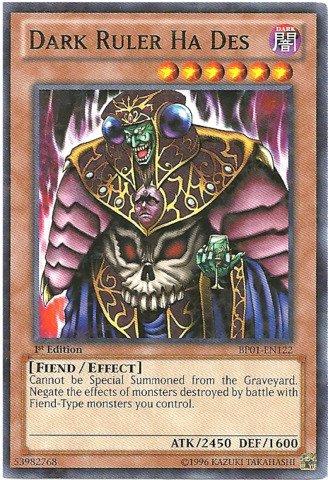 Yu-Gi-Oh! - Dark Ruler Ha Des (BP01-EN122) - Battle Pack: Epic Dawn - Unlimited Edition - Starfoil Rare by Yu-Gi-Oh! (Dark Ruler Ha Des)