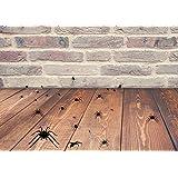 Halloween arañas, juego de 25pegatinas de suelo de vinilo