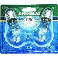 Sylvania a Eco SYL0023578 Classic-Set di 2 lampadine alogena ecologica, A55, E27, 70 W, in alluminio, colore: bianco