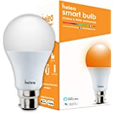 Helea 9W Wi-Fi Smart Bulb (B22), Colour & White Ambiance, Compatible with Alexa & Google Assistant