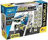 Lisciani Giochi- Scienza Hi Tech Robot 14 Modelli Energia Solare, Multicolore, 73245