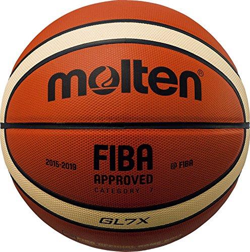 Molten BGL Parallel Pebble Basketball, Tan, Größe 6 -
