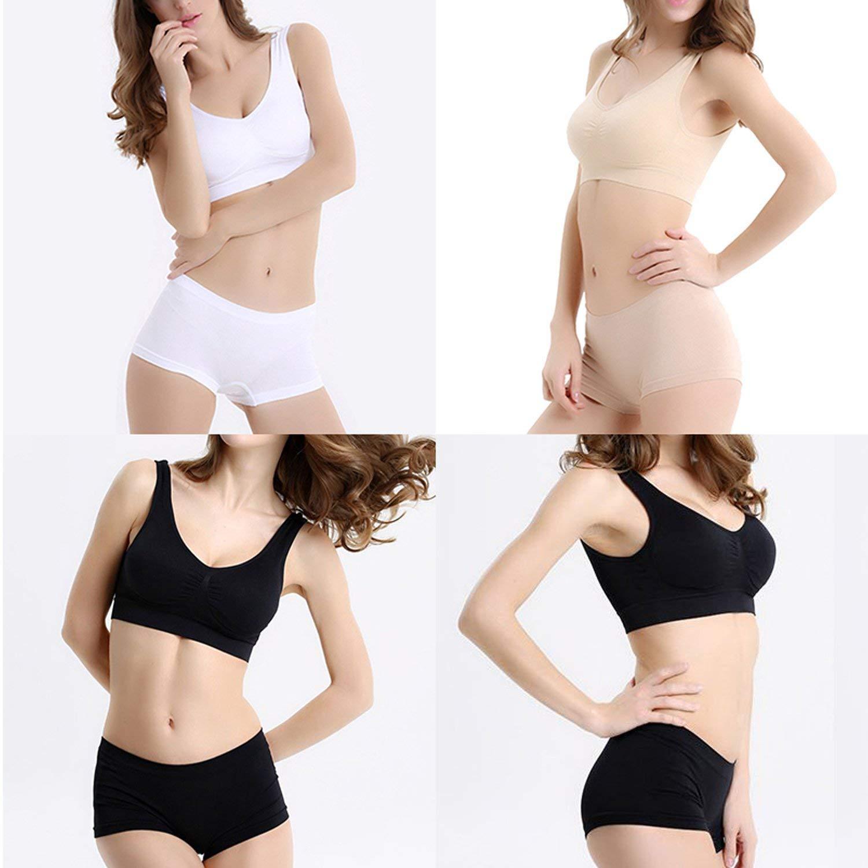 6b8577e29f ALBATROZ Pack of 3 Women s Clothing Lingerie Set Air Bra Non- Padded ...