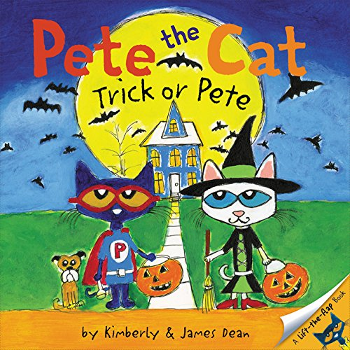 Pete the Cat: Trick or Pete por James Dean