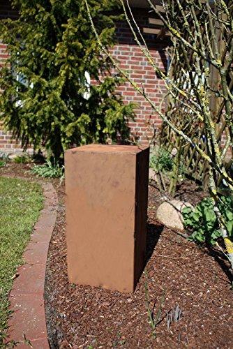 Jabo Design Rost Säule RS11 Säulen Rostsäulen Garten Blumen Deko Rostsäule