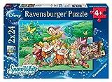 Ravensburger 08859 1 - I Sette Nani, Puzzle 2x24 Pezzi