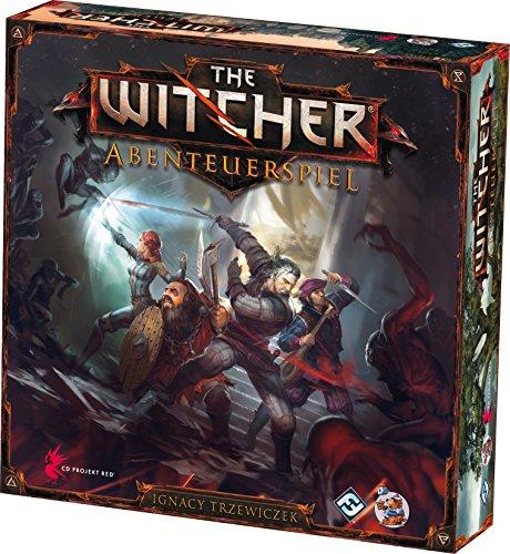 Asmodee HE595 - Witcher - Abenteuerspiel