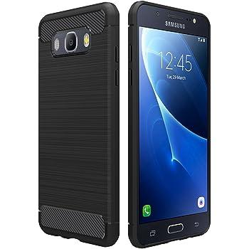reputable site da567 6a102 Simpeak For Samsung Galaxy J5 2016 Case Black, Premium Rugged Protector  Back Case for Samsung Galaxy J5 2016 5.2