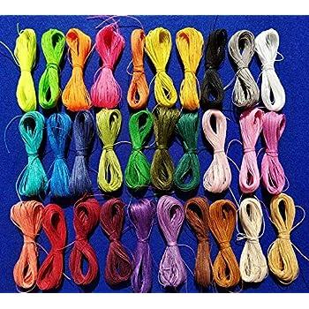 couleur : Marron Shamballa Attache tétine Cordon // Fil polyester 2 mm 3 m