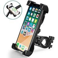 CHEREEKI Porta Cellulare Bici, Supporto Bici Smartphone 360° Rotabile Manubrio Bici Moto per Bicicletta Ciclismo, GPS…