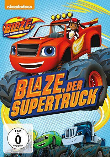 Blaze und die Monstermaschinen - Blaze, der Supertruck - Monster-truck-dvd