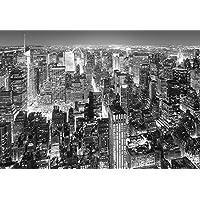 Midtown New York - in tessuto non tessuto aktions-carta da parati Wallpaper 366 x 254 cm - 8 teilig Beige dà una confezione di colla e una istruzioni per. Made in