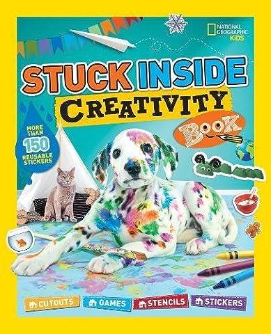 Stuck Inside Creativity Book: Cutouts, Games, Stencils, Stickers