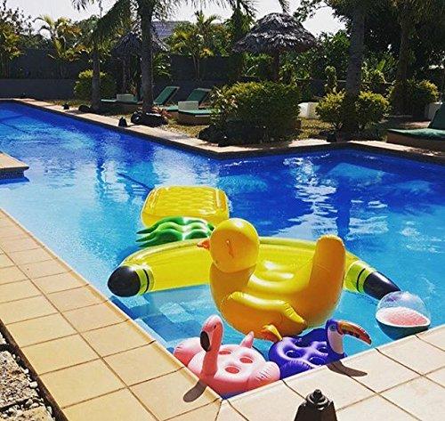Liyoung unicornio hinchable colchonetas piscina flotador for Colchonetas hinchables piscina
