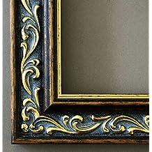 Online Galerie Bingold - Marco para cuadro, ancho 4,4 cm, color marrón dorado, vidrio, dorado, DIN A4 (21,0 x 29,7 cm)