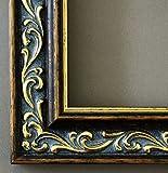 Bilderrahmen Verona Braun Gold 4,4 - Über 14000 Größen - 19 x 27 cm - mit Normalglas - Maßanfertigung ohne Aufpreis