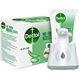 Dettol Handwash No-Touch Automatic Soap Dispenser Device with Aloe Vera Refill – 250ml   Aloe Vera & Moisturizer   10X Better