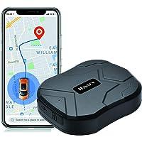 GPS Tracker, 5000mAh GPS Ortung für Fahrzeuge Wasserdicht Echtzeit Auto GPS Tracker Starke Magnet Ortungsgerät Für…