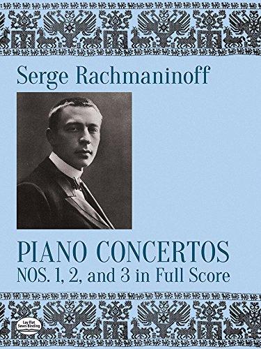 Piano Concertos Nos. 1, 2 and 3 in Full Score (Piano Concertos, 2 & 3)