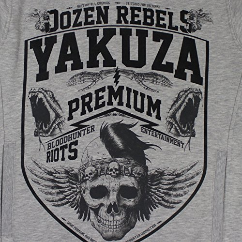 Yakuza Premium Hoody 2422 Grau