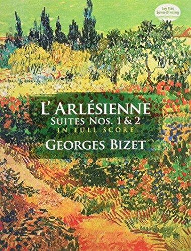 L' Arlesienne Suites Nos. 1 & 2 Full Score (Dover Music Scores)
