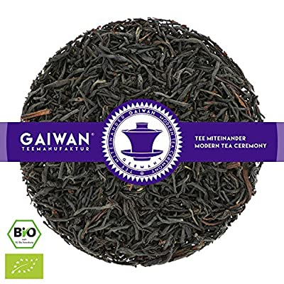 """N° 1430: Thé noir bio """"Ceylon Storefield OP"""" - feuilles de thé issu de l'agriculture biologique - GAIWAN® GERMANY - thé noir au Ceylan"""
