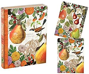 Michel Design Works 12 Count Library Notes, Golden Pear