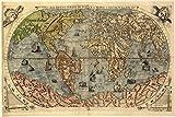 Postereck - 0460 - Historische Weltkarte - Poster 3:2-91.0 cm x 61.0 cm