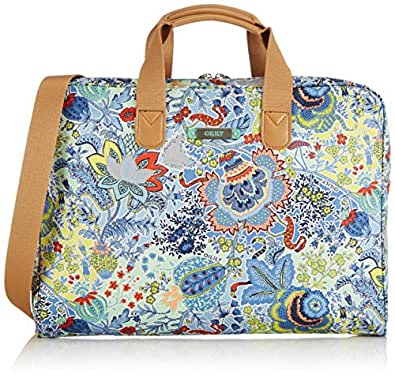 Oilily Womens Oilily Laptop Bag 15,6inch Shoulder Blue Size: 39x28x5