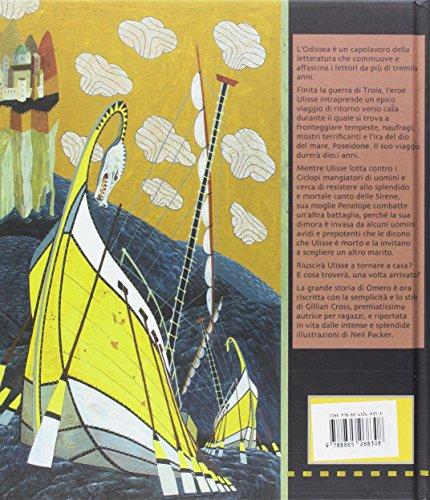 Odissea di Omero. Ediz. a colori (Libri illustrati)