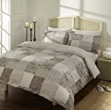 Quality Natural Marrakech Moroccan Inspired Duvet Set by Sleepscene Cotton Blend Multiple Sizes Available