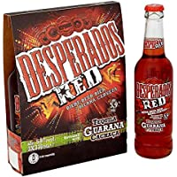 Desperados Red Tequila Guarana Cachaça Beer (24 x 330ml Bottles)