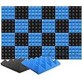 Arrowzoom 24 Acoustic Panelen Geluidsabsorberende akoestische Piramide Correctie Vlamvertragende Audio Behandeling schuimpane