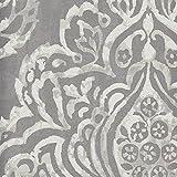 Platino - 1641/924 - replicados - Damasco - origen - Diseño elegante del papel pintado