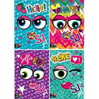 a5f8d24d38 CARTOON WORLD 5 Quadernoni Quaderni maxi A4 SEVEN - SJ GANG GIRL FACCE -  Rigatura 10