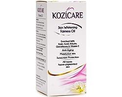 Kozicare Skin Whitening Fairness Oil ( Kojic Acid, Glutathione, Arbutin, Vitamin E) , 60ml