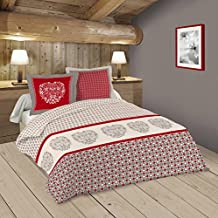Amazon.fr : couette 240x260   Rouge