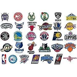 Pack de 31 Pegatinas de la NBA