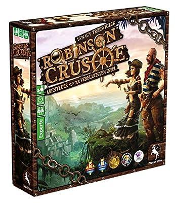 Pegasus Spiele 51945G–Robinson Crusoe–Aventure sur l'île de verfluchten, jeu de stratégie